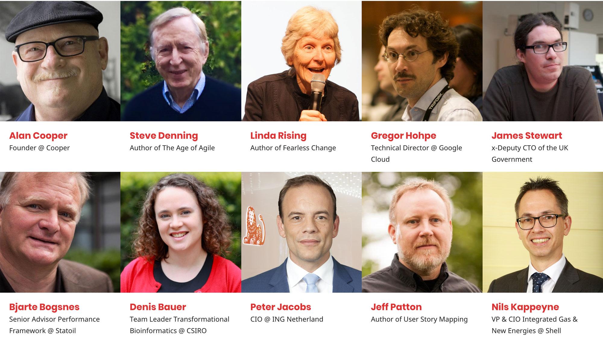 Agile India 2018 Keynote Speakers