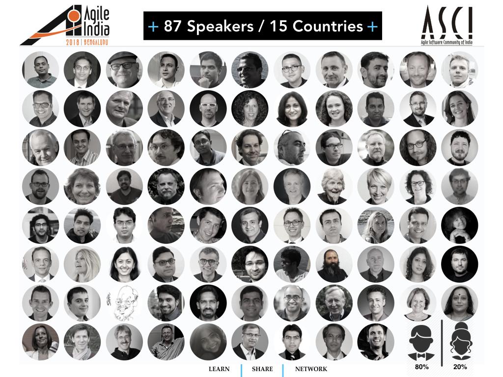 Agile India 2018 Speakers